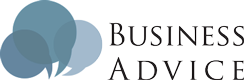 Business Advice Sticky Logo